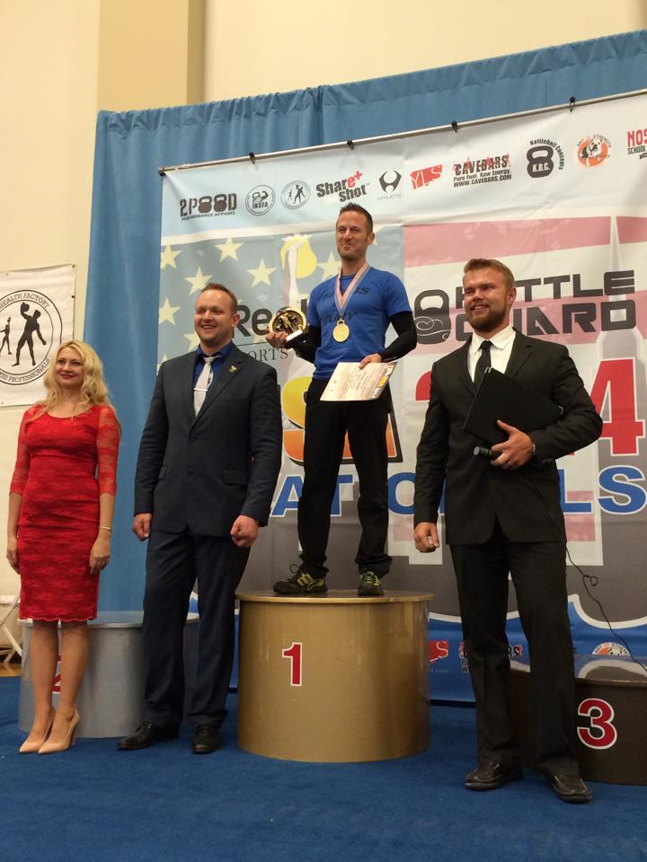 Randal Setzler - 1st Place at Kettlebell National Championships